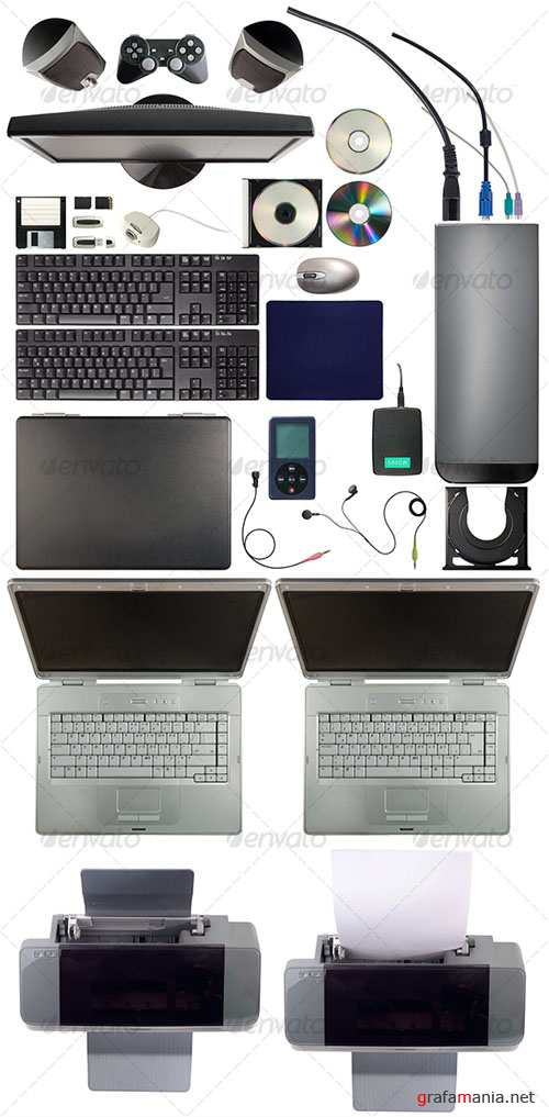GraphicRiver Computer Equipment Pack