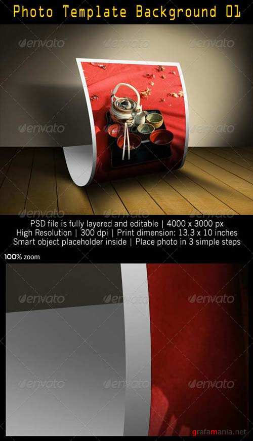 GraphicRiver Photo Template Background 01
