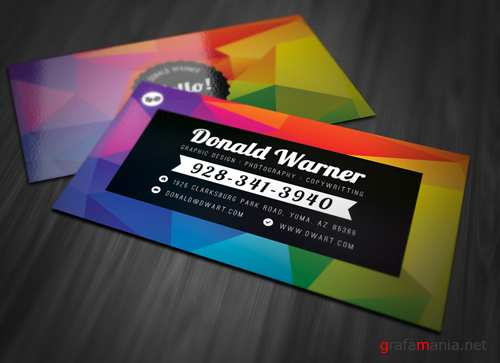 Color Explosion Business Card
