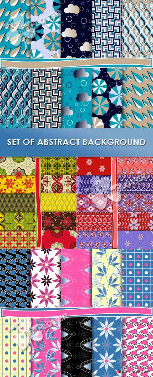 Set of abstract backgrounds 0439