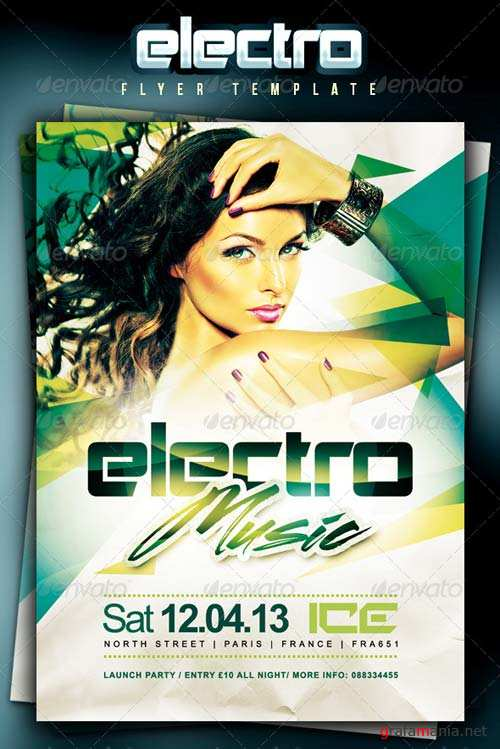 GraphicRiver Electro Music Flyer Template