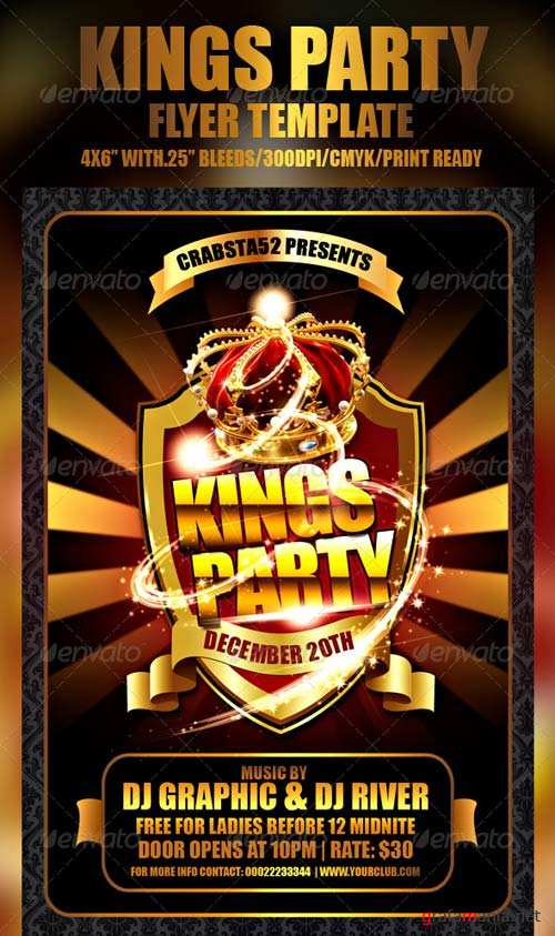 GraphicRiver Kings Party Flyer Template