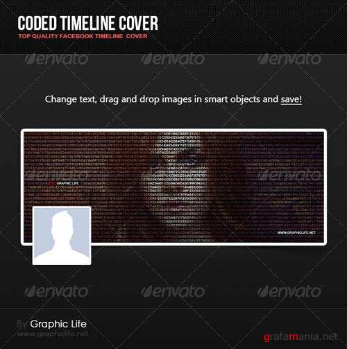 GraphicRiver Coded Timeline Cover