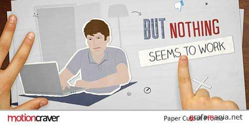 Paper Cut Out Promo - After Effects Project (Videohive)