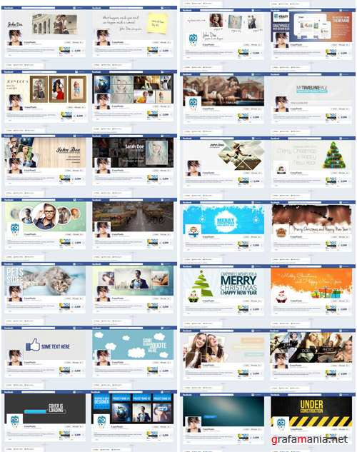 29 Facebook Covers PSD Templates