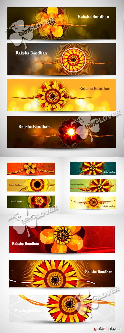 Raksha Bandhan celebration banners 0447
