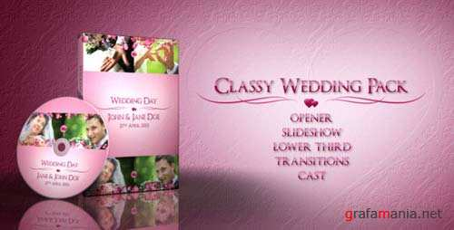 Classy Wedding Pack - After Effects Project (Videohive)