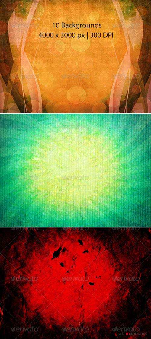 GraphicRiver Abstract Grunge Oil painting Backgrounds