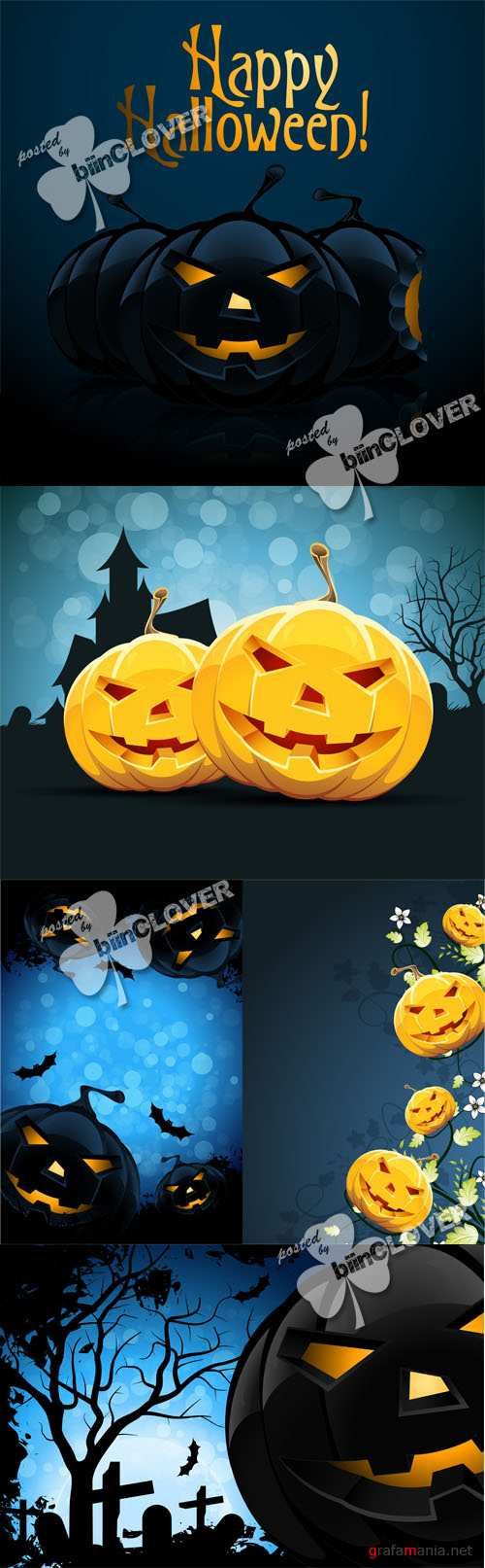 Halloween night cards 0455