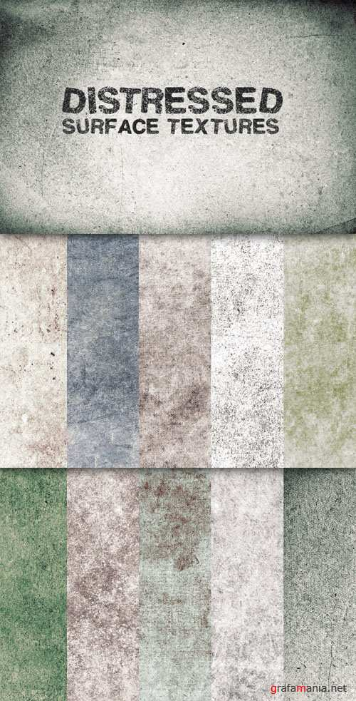 WeGraphics - Distressed Surface Texture Pack