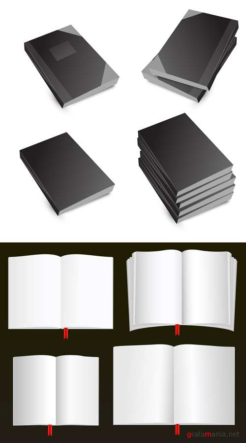 Books Vector Set