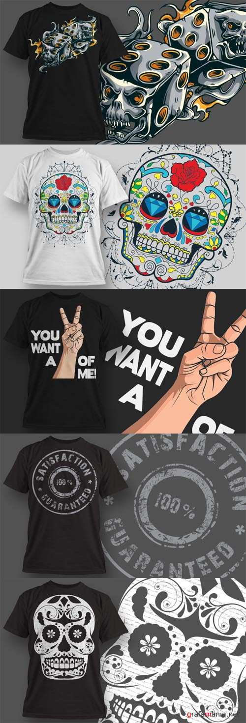 T-Shirt Vector Design Set 20