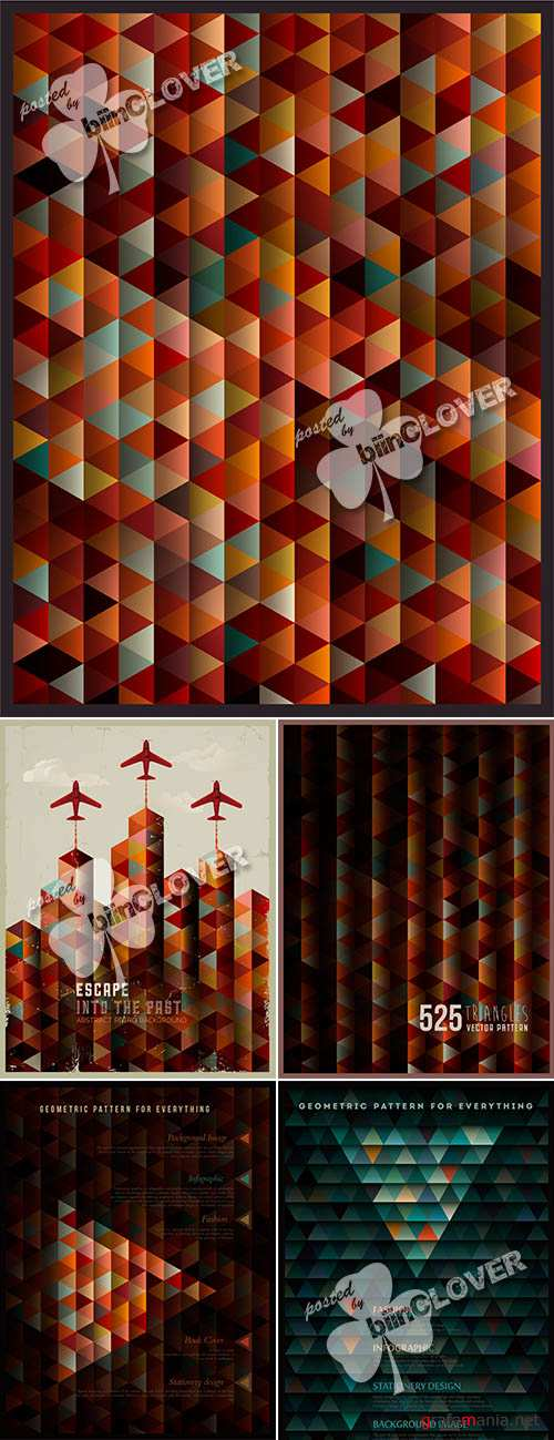 Geometric abstract background 0470