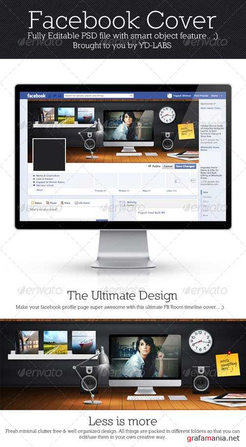 GraphicRiver FB Room Cover