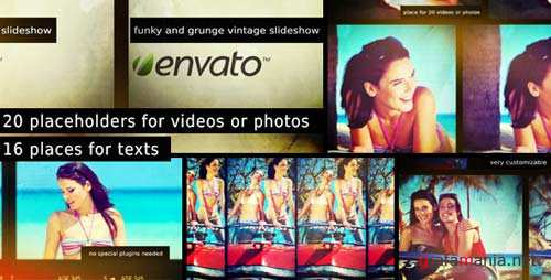 Funky and Grunge Vintage Slideshow - After Effects Project (Videohive)