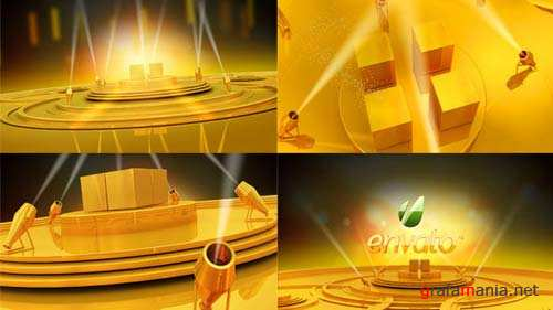 Gold stage - After Effects Project (Videohive)