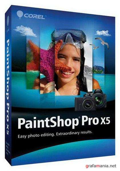 Corel PaintShop Pro X5 15.3.0.8 SP3 Portable (ML|RUS)