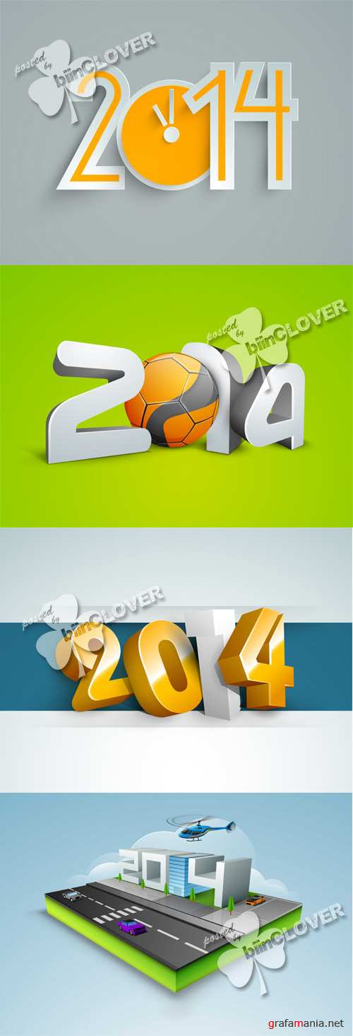 New Year 2014 cards 0491