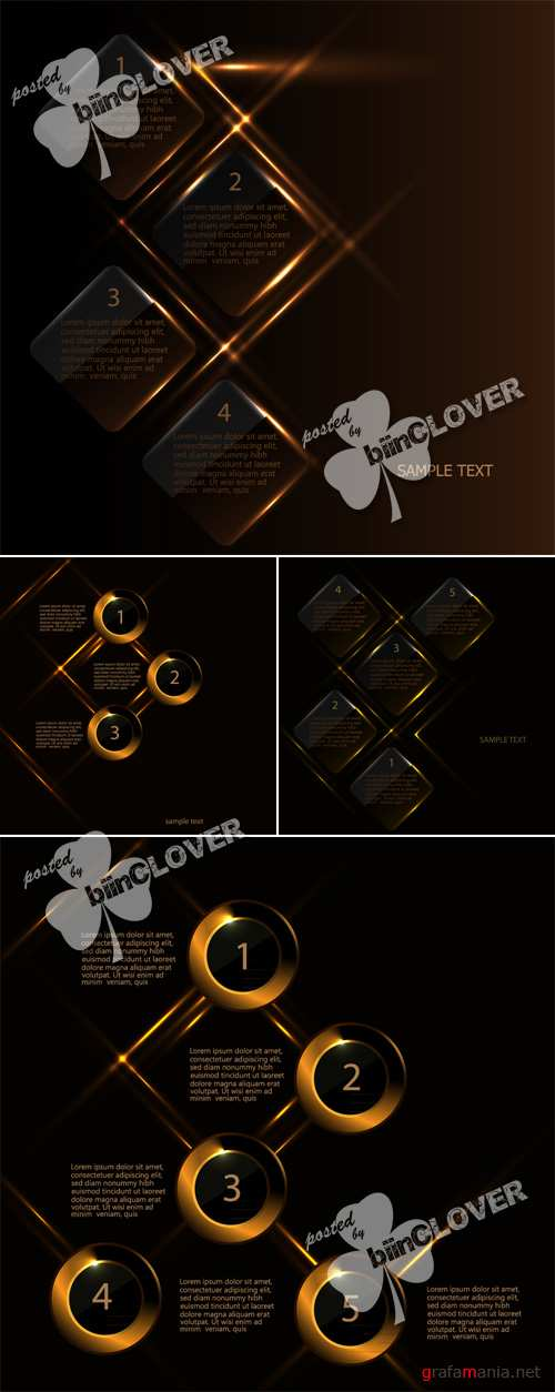 Creative infographic template 0494