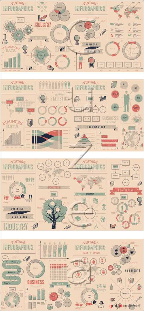 Infographic elements, 78 - vector stock