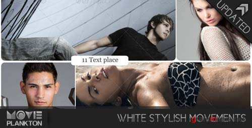 White Stylish Movements - After Effects Project (Videohive)