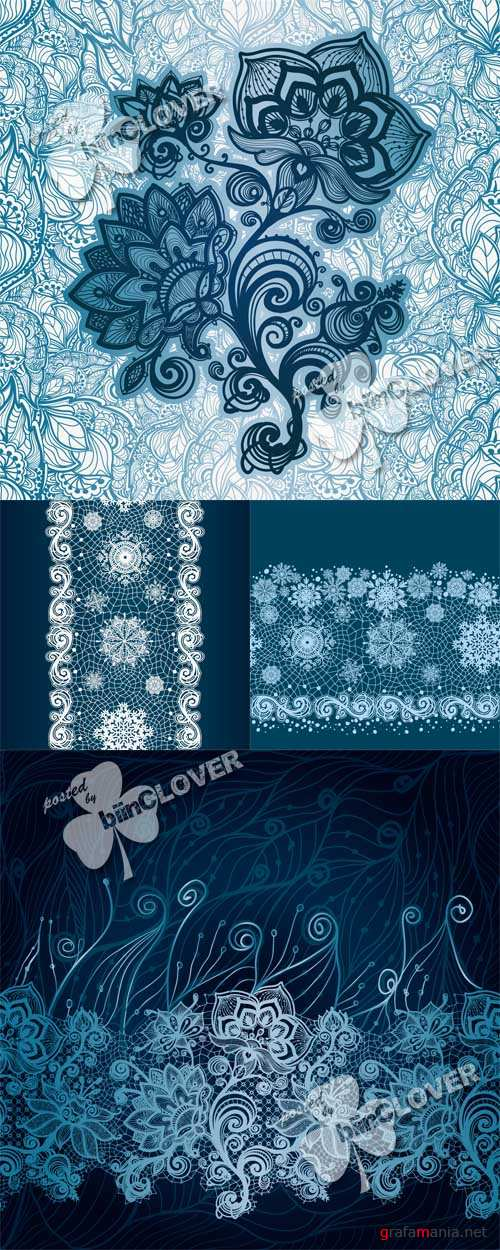 Abstract lace decoration 0500