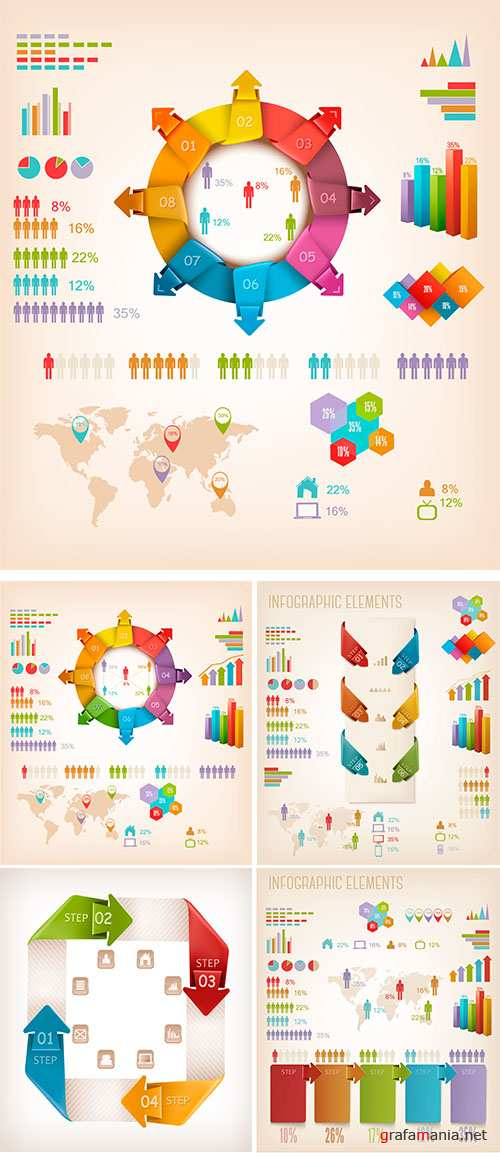 Stock: Set of Info graphics elements