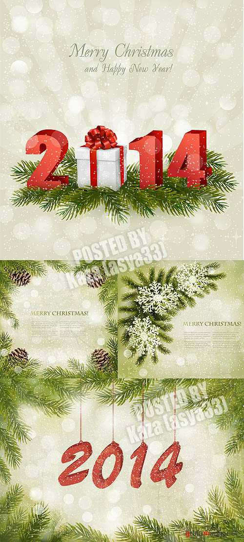 New Year cards 2014 #5