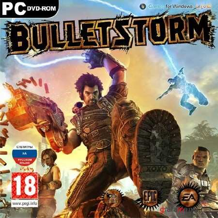 Bulletstorm *v.1.0.7147.0 + 2 DLC* (2011/RUS/ENG/RePack by z10yded)