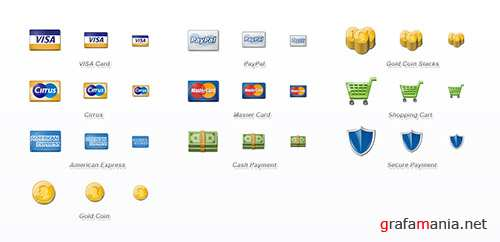 10 Payment Icons Set