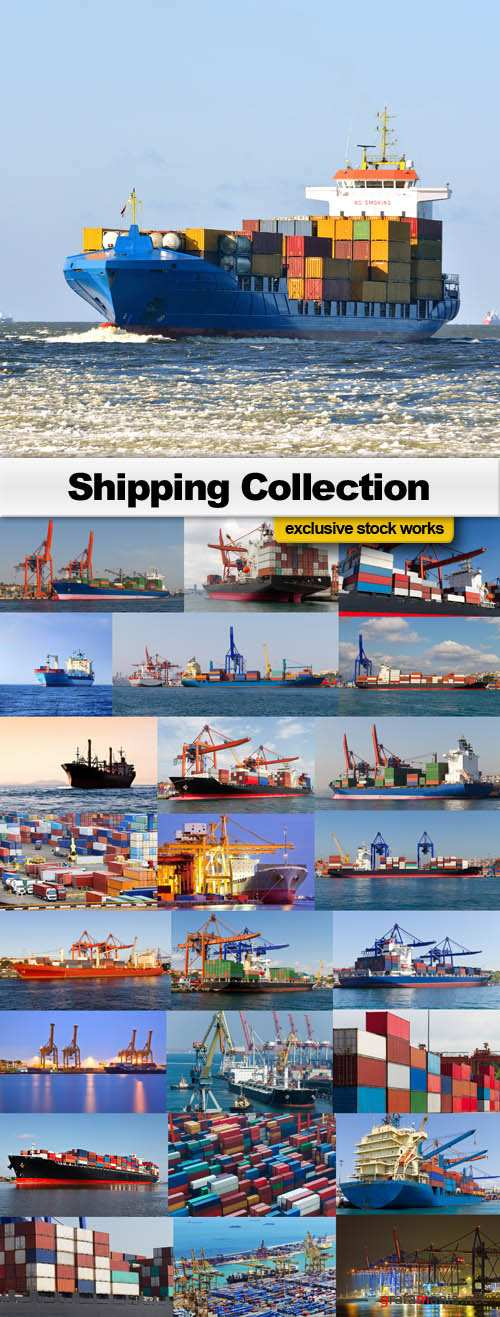 Shipping Collection - 25 UHQ JPEG