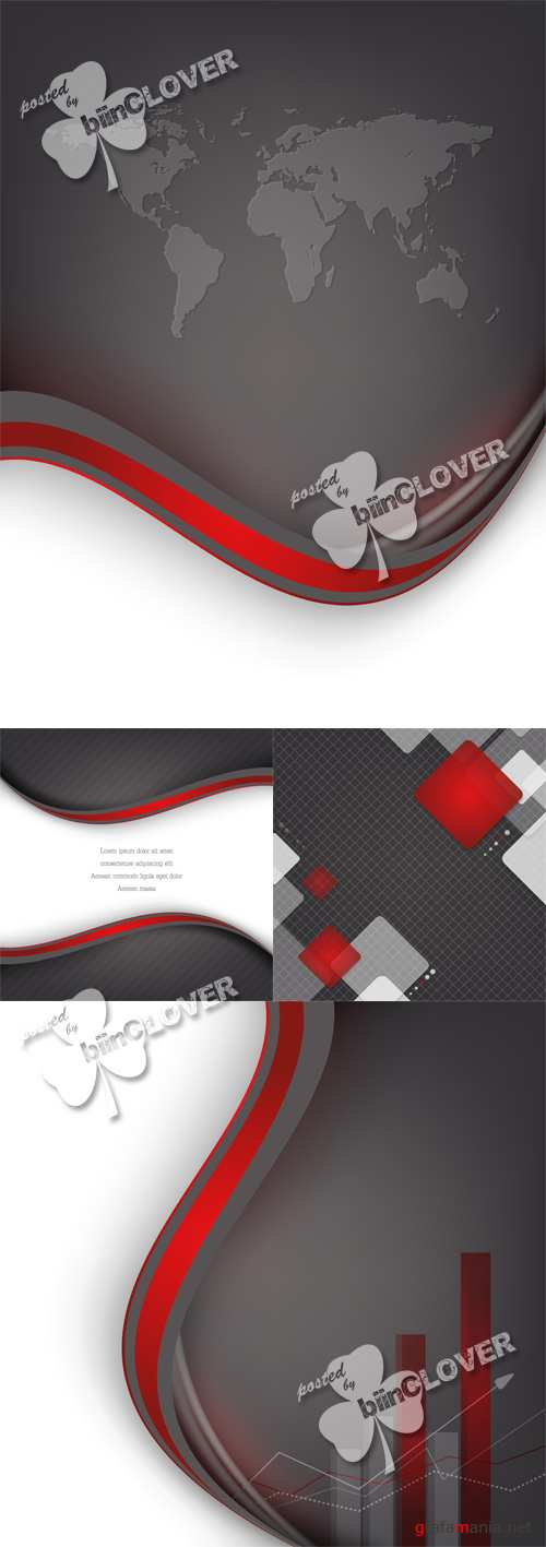 Corporate abstract background 0519