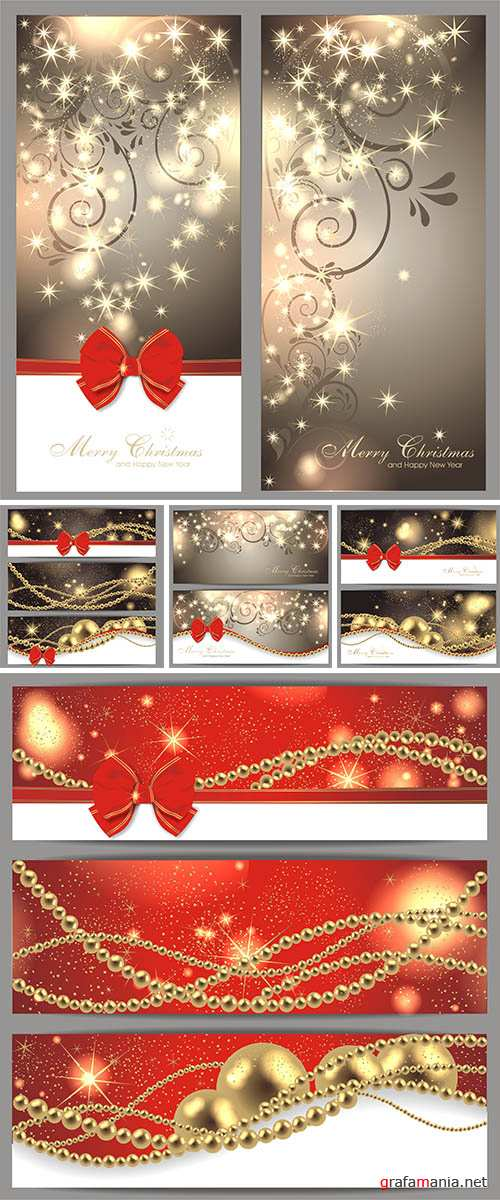 Stock: Christmas backgrounds banners 5