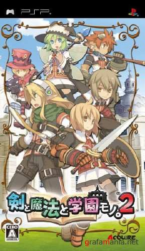 Class of Heroes 2 (2013/PSP/USA)