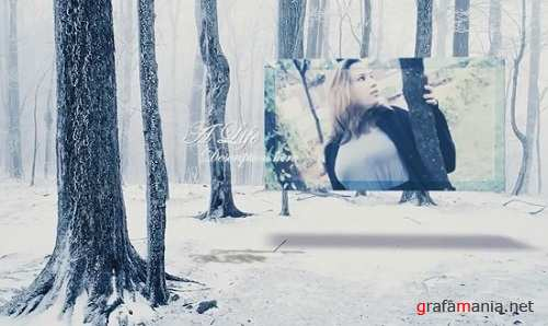 Проект - Loves in Winter для After Effects