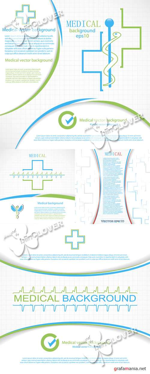 Abstract medical background 0526