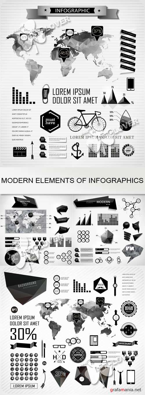 Modern elements of info graphics 0530