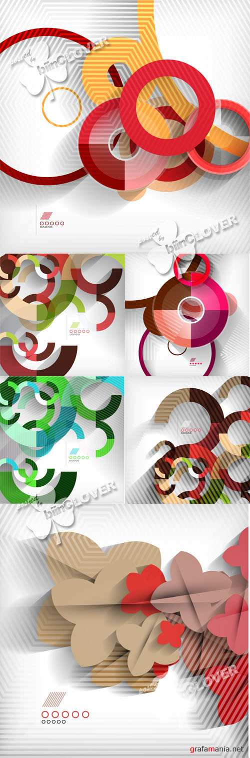 Geometric modern abstract background 0532