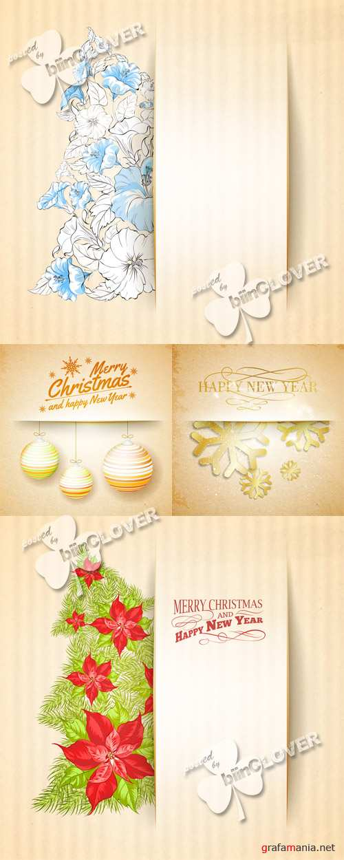 Christmas paper background 0536