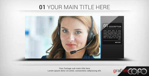 Clean Slideshow - After Effects Project (Videohive)
