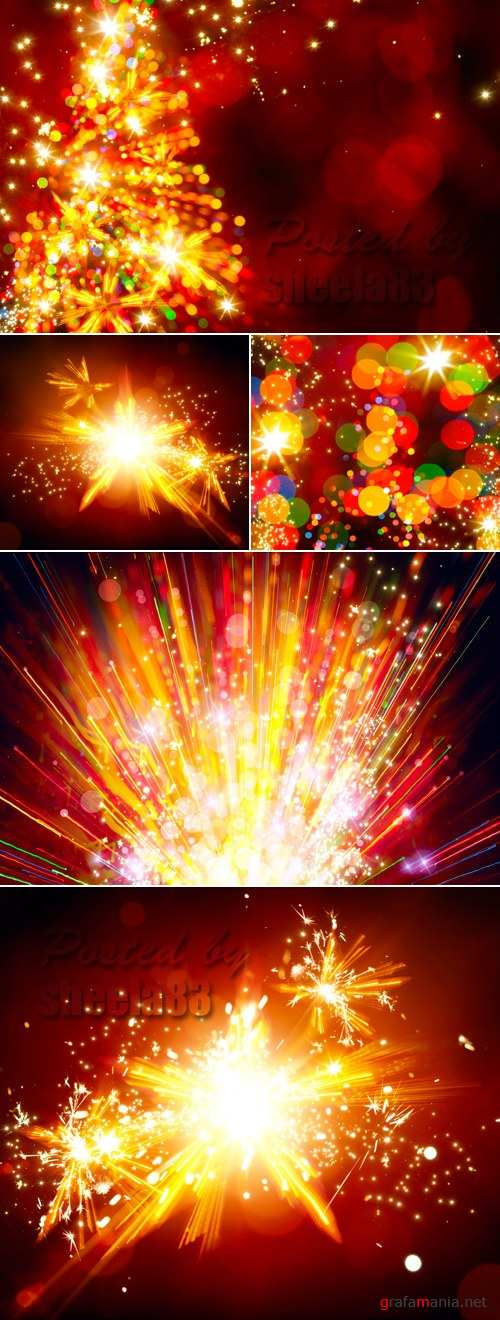 Stock Photo - Sparkling Holiday Backgrounds 3