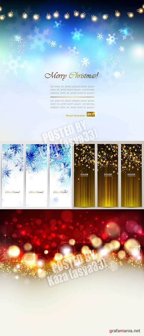 New Year backgrounds 4
