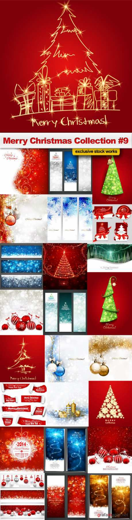 Merry Christmas Collection #9 - 25 EPS