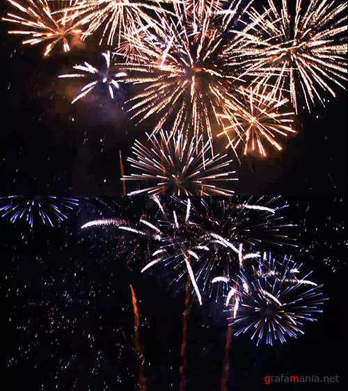 iStock Video Footage - Firework Display, loopable, slow motion