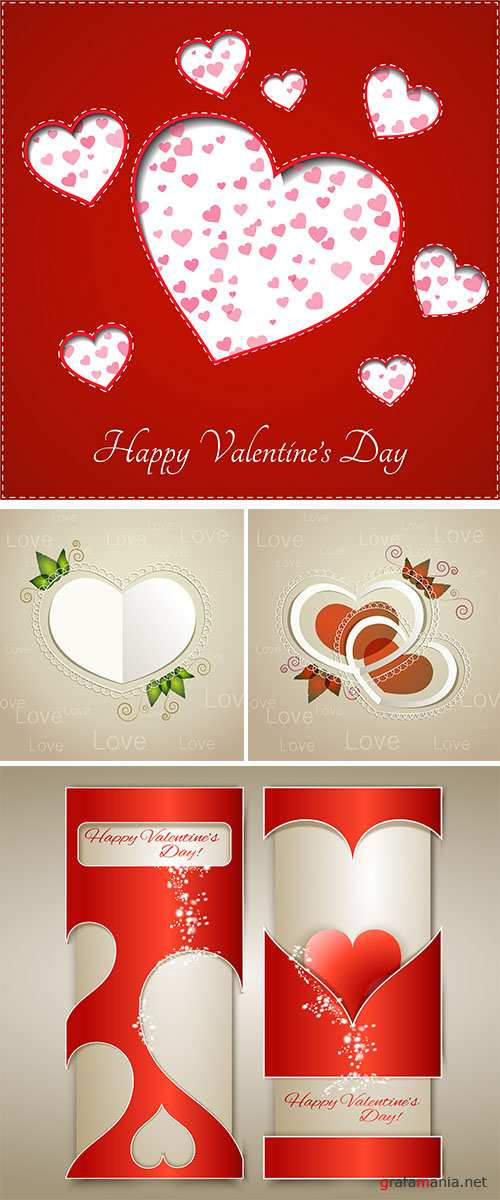 Stock: Heart for Valentine's Day Background