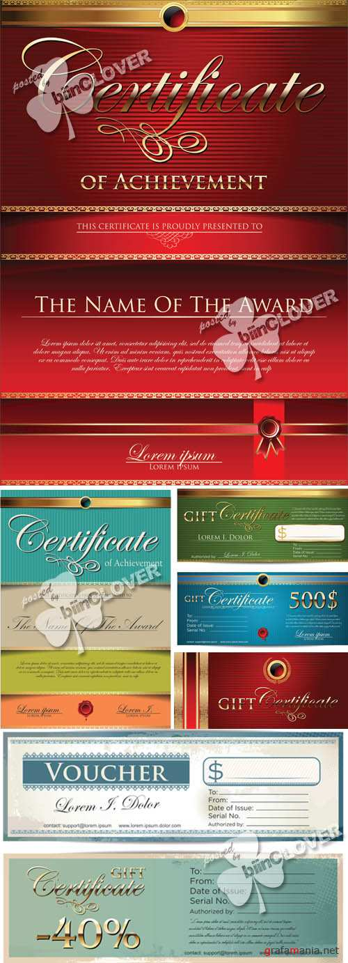 Gift certificate template 0544