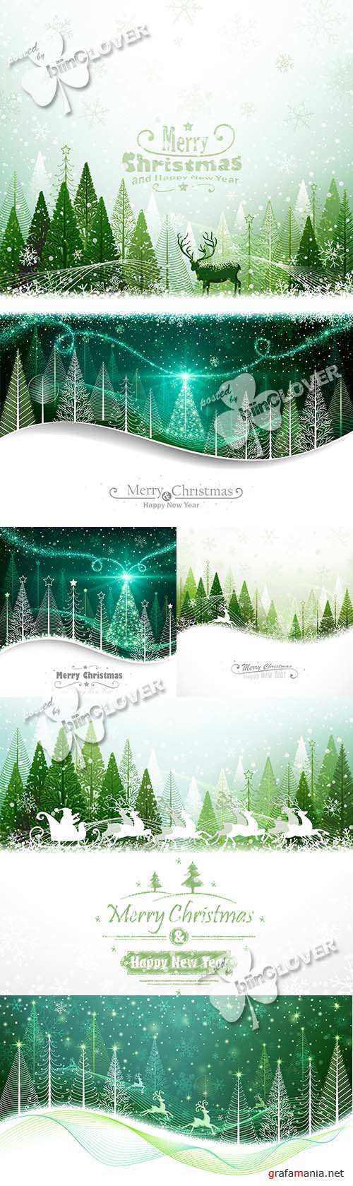 Merry Christmas cards 0544