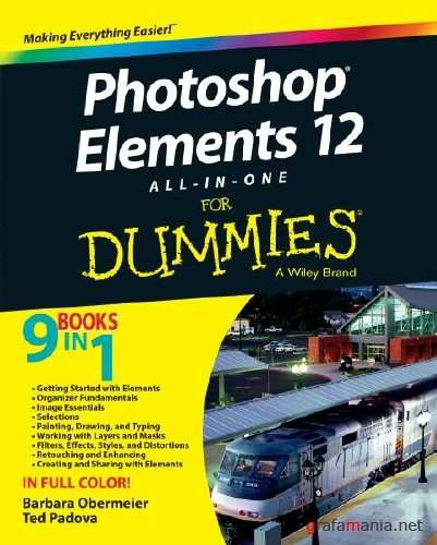 Photoshop Elements 12 All-in-One For Dummies (2013/ENG/PDF)