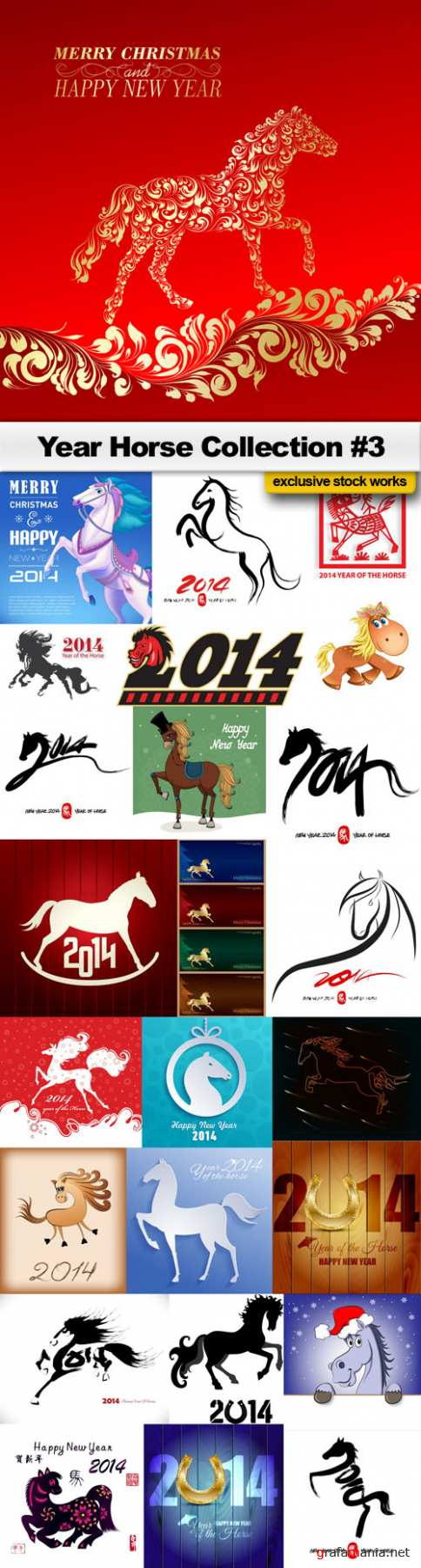 Year Horse Collection #3 - 2014 - 25 EPS
