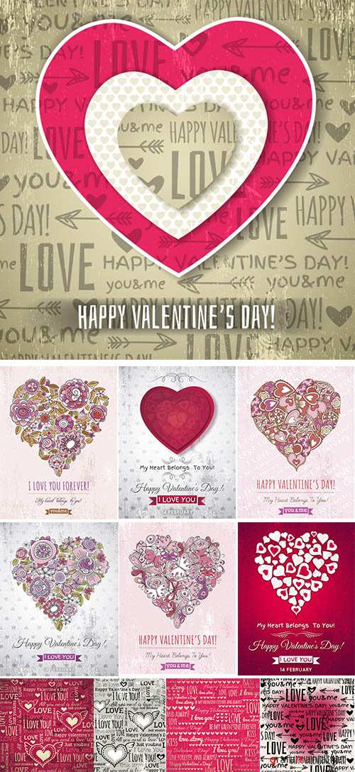 Stock: Background with valentine heart